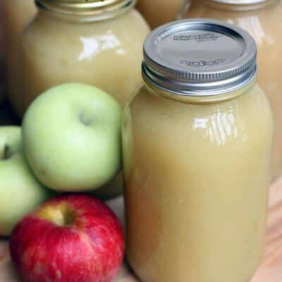 How to Can Applesauce