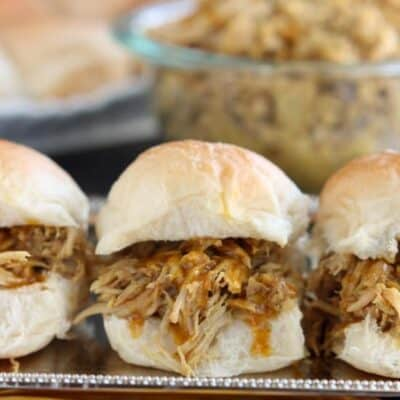 Mustard BBQ Pulled Pork Sandwiches
