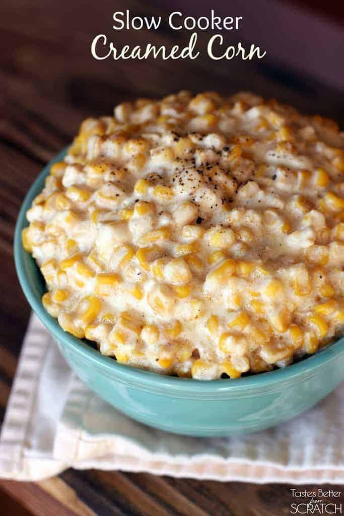 Slow Cooker Creamed Corn Recipe — Dishmaps