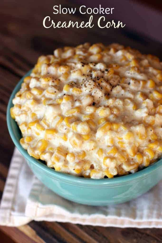 ... Slow Cooker or Stove Top) Slow Cooker Creamed Corn Skinny Tomato Basil