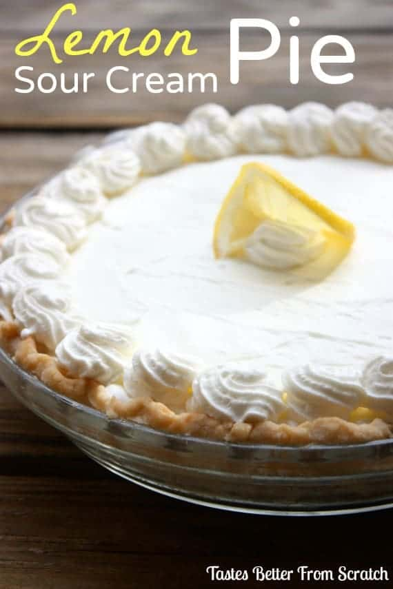 LemonSourCreamPie
