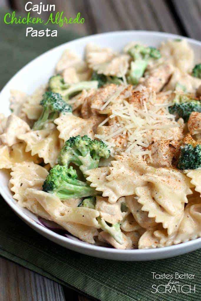 Cajun Chicken Alfredo Pasta | Tastes Better From Scratch