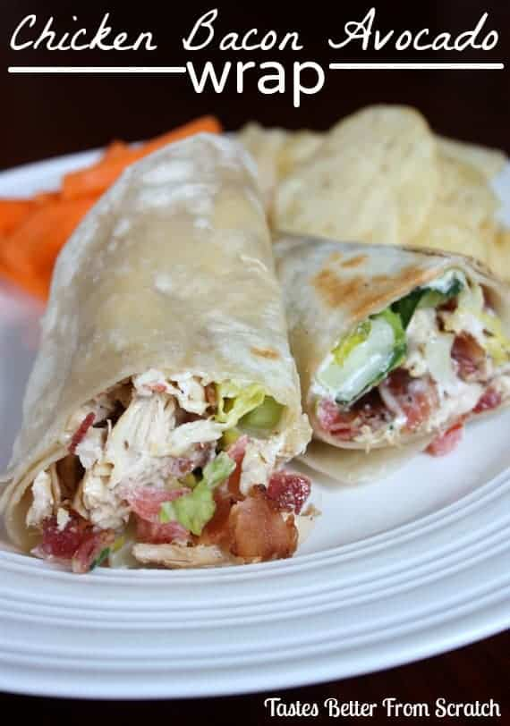 Turkey Cranberry Almond Wrap - Tastes Better From Scratch