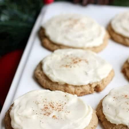 Eggnog Cookies from TastesBetterFromScratch.com