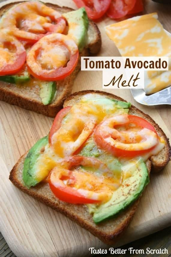 TomatoAvocadoMelt