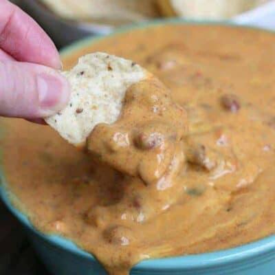 Homemade Chili Cheese Dip