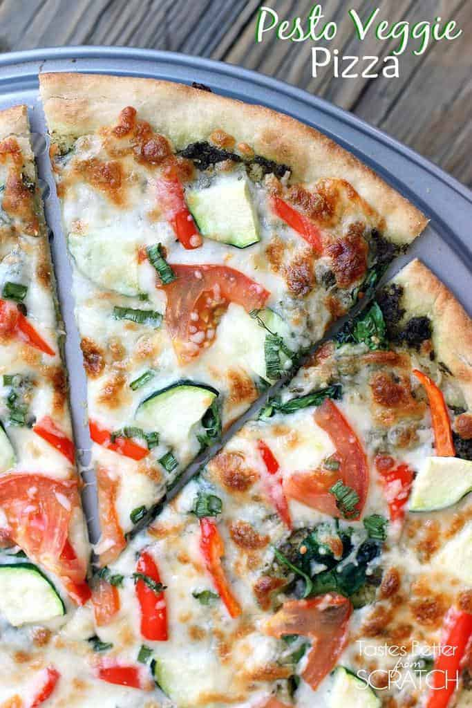 recipe: pesto pizza recipe [39]