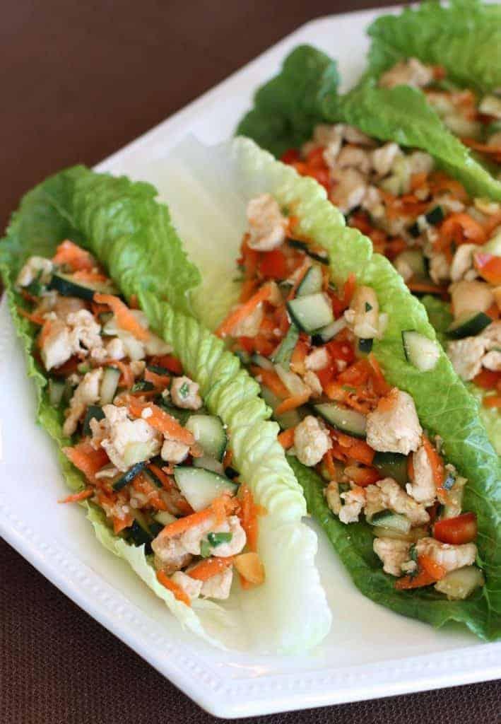 spicy chicken lettuce wraps recipe