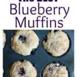 The BEST Blueberry Muffins recipe on TastesBetterFromScratch.com