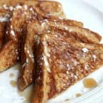 Classic French Toast recipe on TastesBetterFromScratch.com