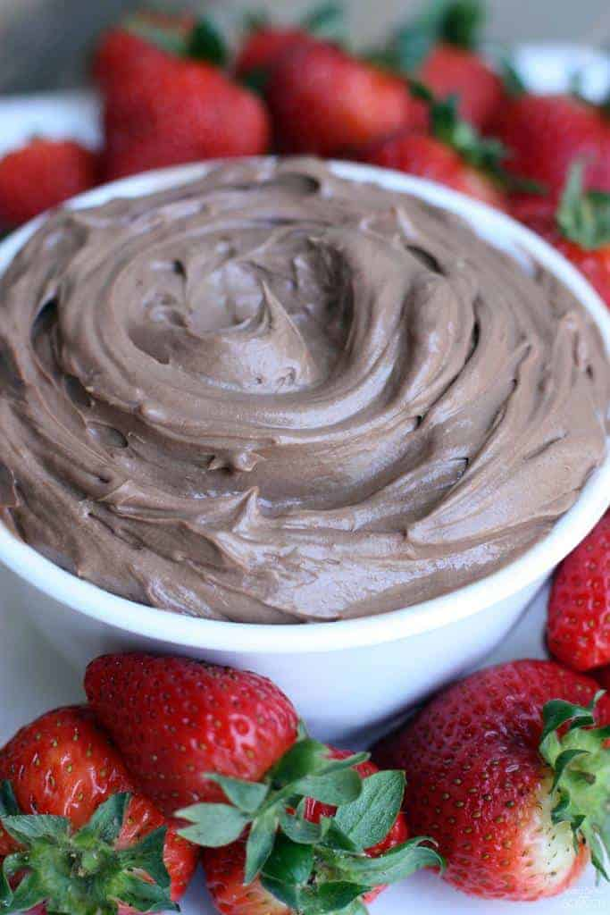 Nutella Cheesecake Dip from TastesBetterFromScratch.com