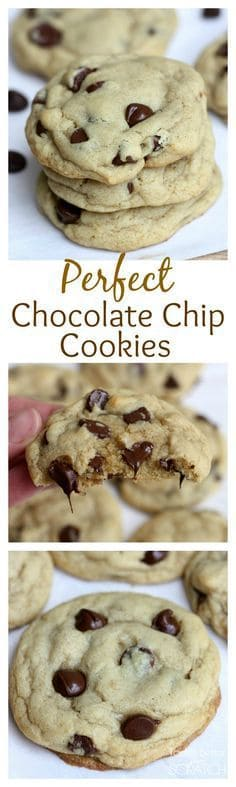 These Perfect Chocolate Chip Cookies are soft, chewy, and perfect in every way.  This recipe will replace every chocolate chip cookie recipe you have every tried!  | tastesbetterfromscratch.com #fromscratch #chewy #recipe #howtomake