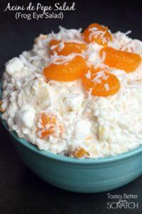Acini de Pepe Fruit Salad (Frog Eye Salad) recipe on TastesBetterFromScratch.com
