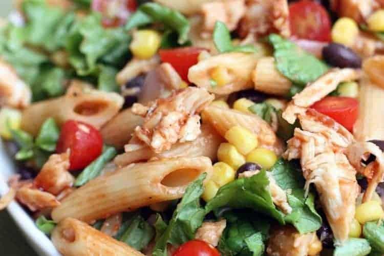 BBQ Chicken Pasta Salad