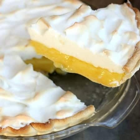 Lemon Meringue Pie from TastesBetterFromScratch.com