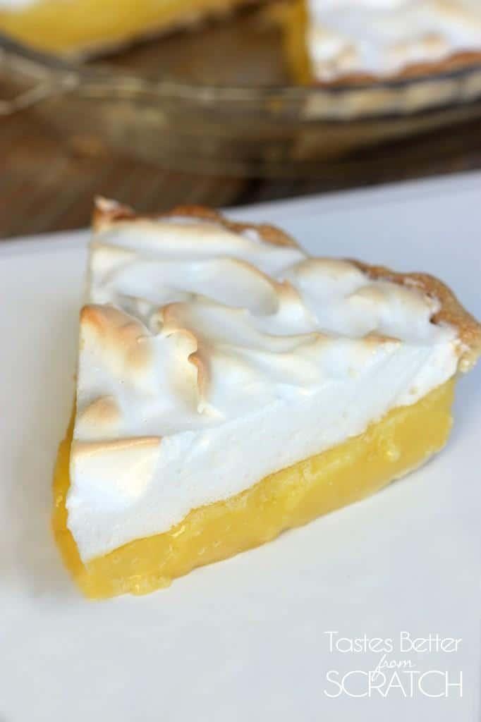 Lemon Meringue Pie from TastesBetterFromScratch.com