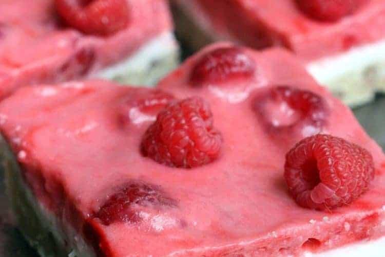Raspberry Pie Bars on TastesBetterFromScratch.com