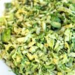 Shredded Brussels Sprouts on TastesBetterFromScratch.com