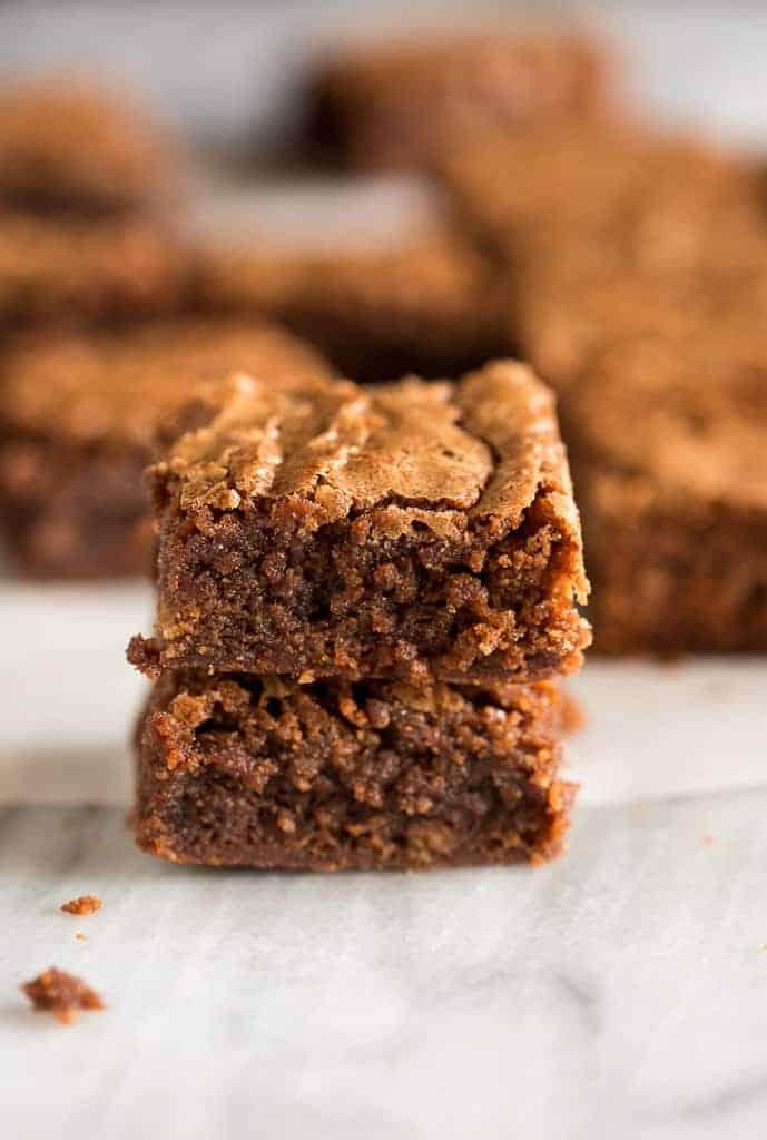 Easy Chocolate Brownies - Tastes Better