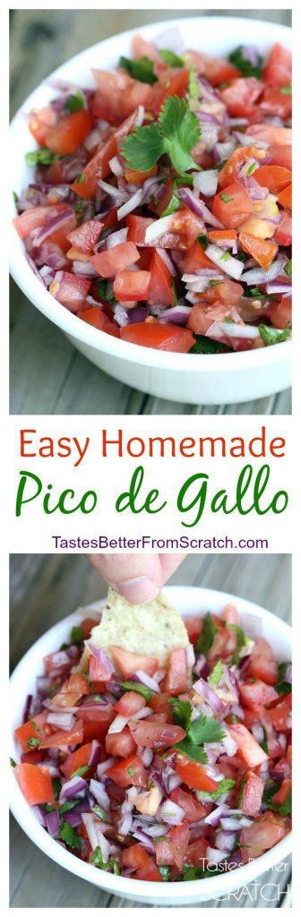 how to make pico de gallo from scratch