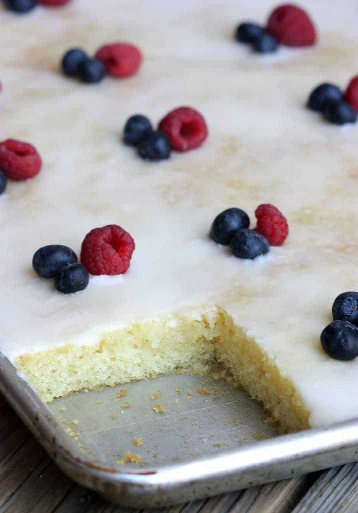 Recipe For Yellow Sheet Cake From Scratch