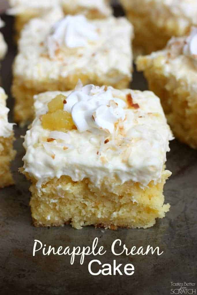 Easy Sour Cream Coconut Cake Recipe
