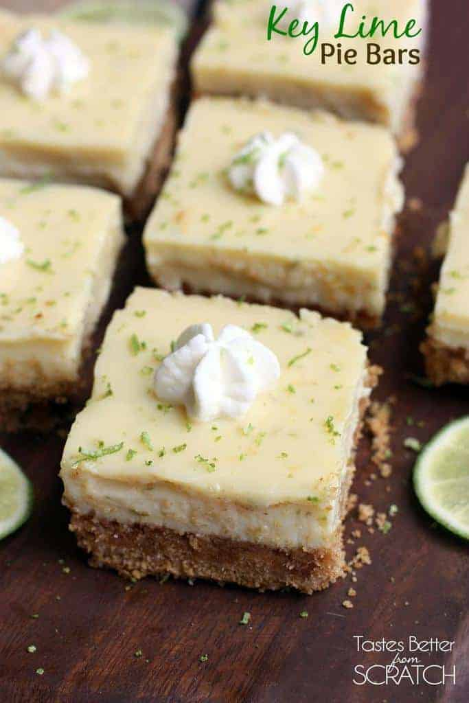 Key Lime Pie Bars - Tastes Better From Scratch