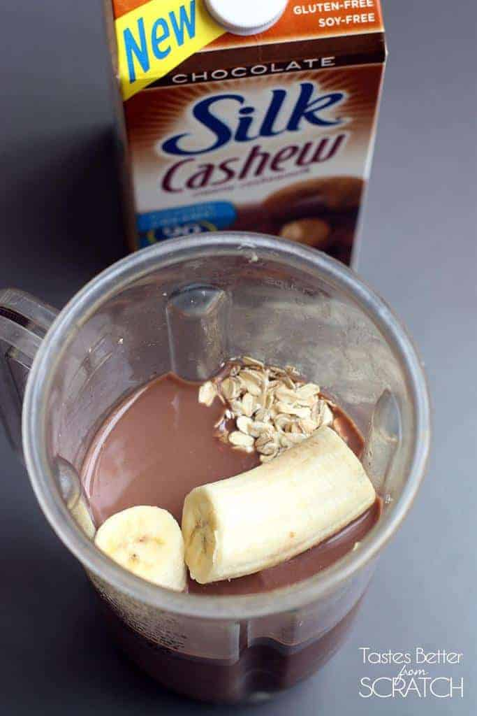 Chocolate Oat Breakfast Drink from TastesBetterFromScratch.com