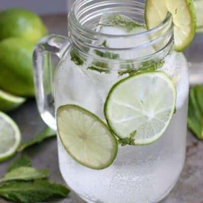 Sparkling Mint Limeade