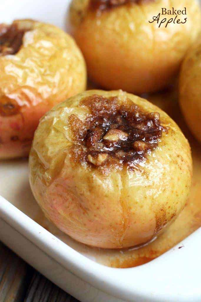 Baked Apples recipe from Tastes Better From Scratch