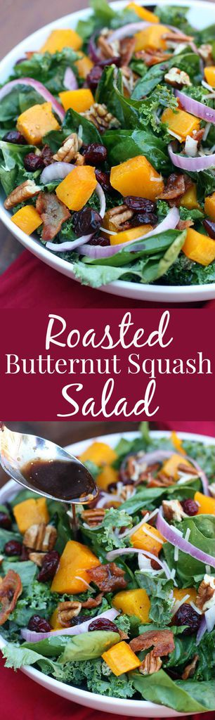 Roasted Butternut Squash Salad recipe from Tastes Better From Scratch