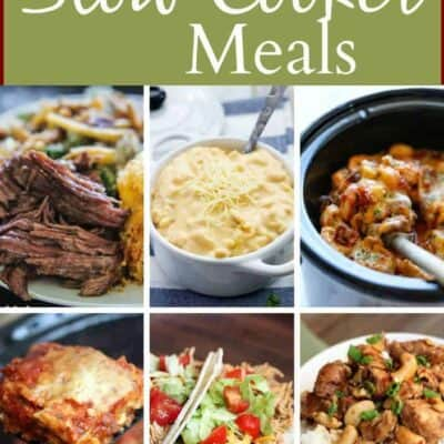 15 Slow Cooker Meals