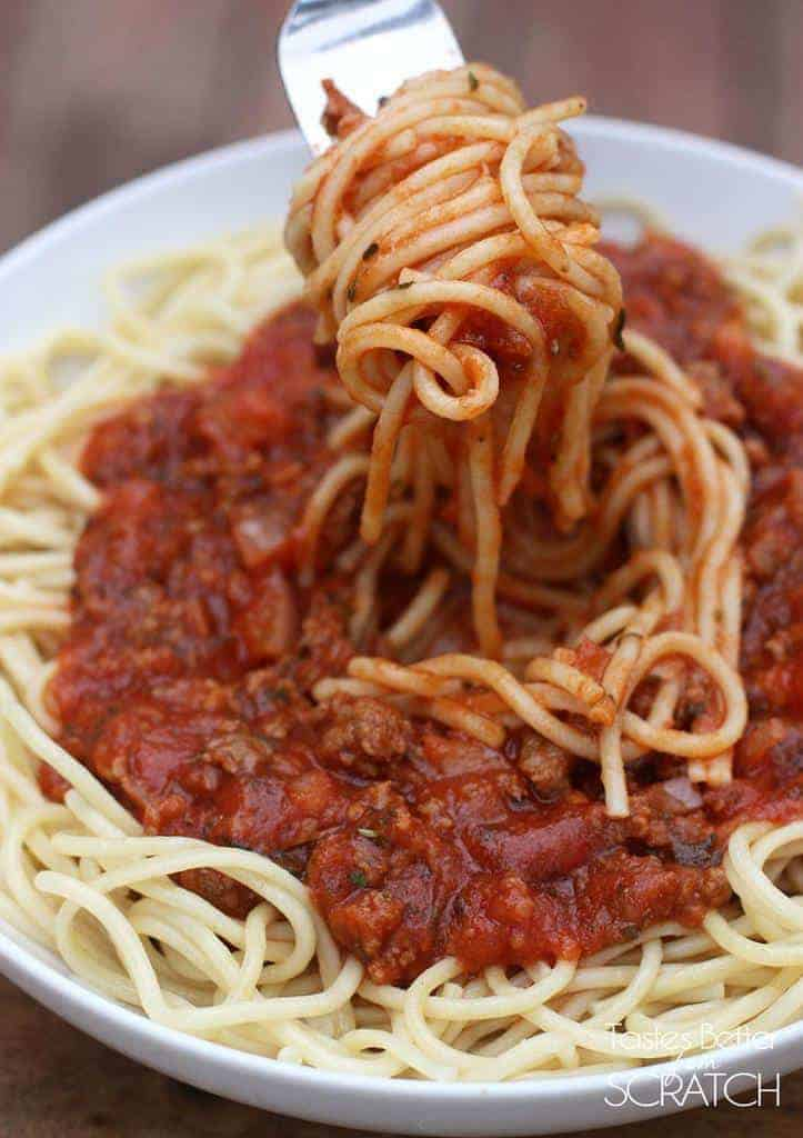 Homemade Spaghetti Sauce Tastes Better From Scratch
