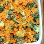 This easy, cheesy Broccoli Casserole makes the best easy side dish! One of my family's favorite recipes! | Tastes Better From Scratch