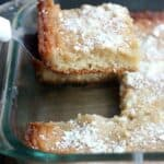 Original Gooey Butter Cake recipe made from scratch!