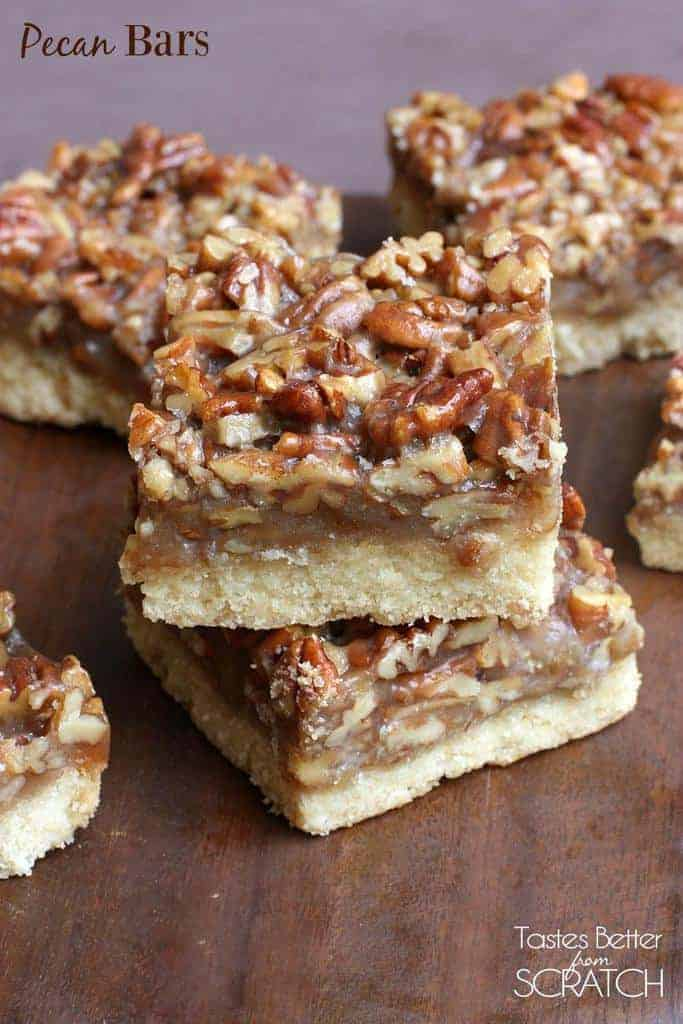 Pecan Bars | Tastes Better From Scratch