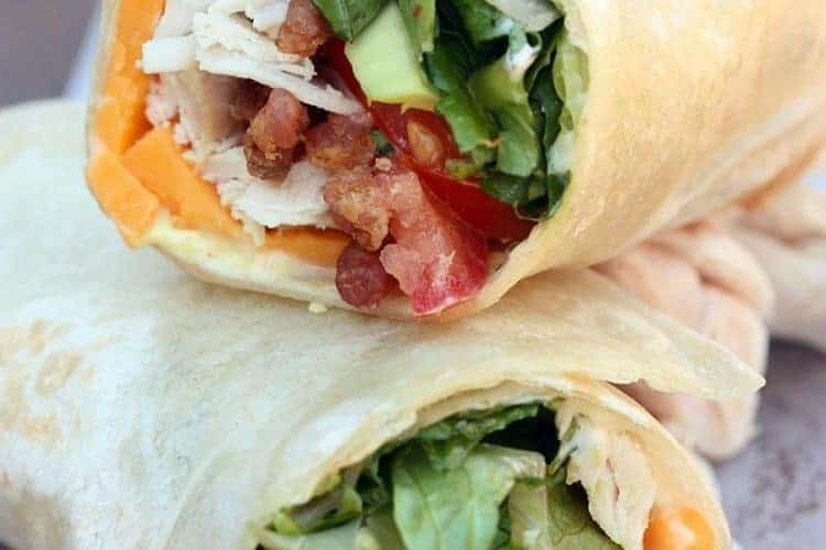 Turkey Club Wrap | Tastes Better From Scratch