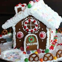 How to make a Gingerbread House-- recipes and tutorial from Tastes Better From Scratch