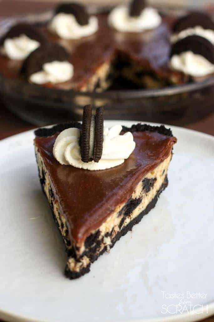 Oreo Cheesecake Pie | Tastes Better From Scratch