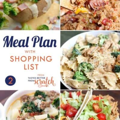 Weekly Meal Plan (2)