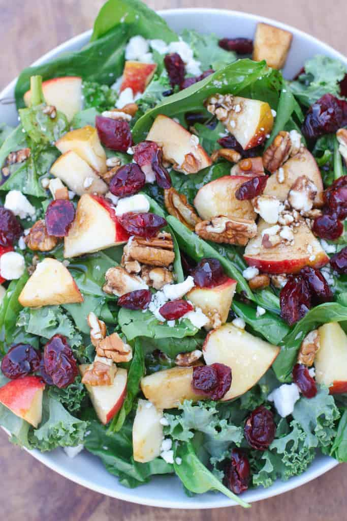 Apple Cranberry Pecan Salad   Tastes Better From Scratch