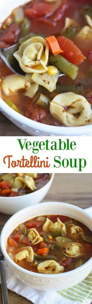 Vegetable Tortellini Soup | Tastes Better From Scratch