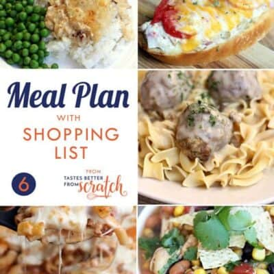 Weekly Meal Plan (6)