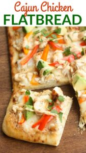 Cajun Chicken Flatbread | Tastes Better From Scratch