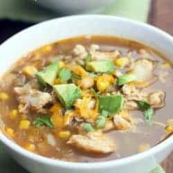 Chile Verde Soup (slow cooker or stove!) | Tastes Better From Scratch