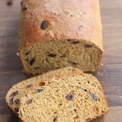 Healthy Raisin Bread