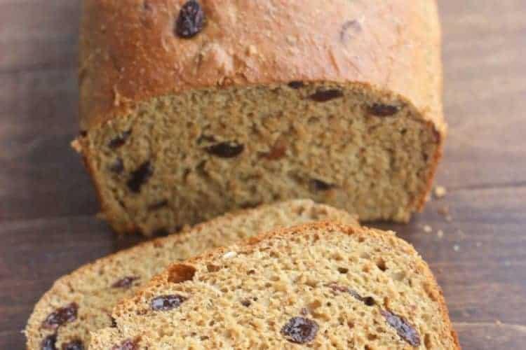 Healthy Raisin Bread | Tastes Better From Scratch