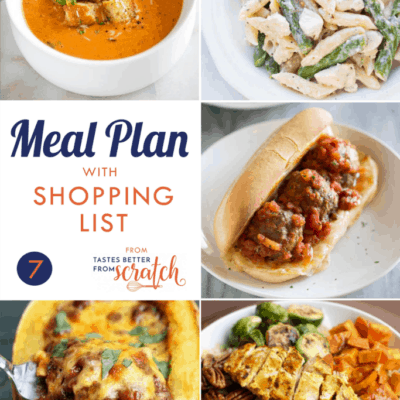 Weekly Meal Plan (7)