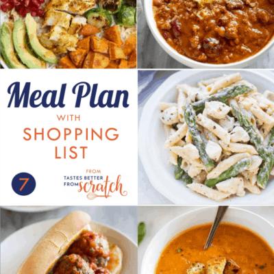 Weekly Meal Plan (7)