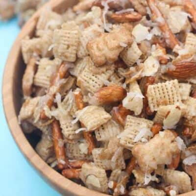Almond Coconut Chex Mix